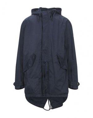 Легкое пальто BOMBOOGIE. Цвет: темно-синий