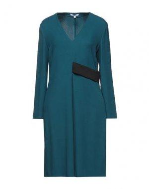 Короткое платье ANGEL SCHLESSER. Цвет: цвет морской волны