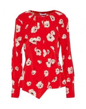 Блузка DEREK LAM 10 CROSBY. Цвет: красный