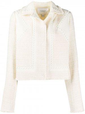 Куртка с заклепками Giambattista Valli. Цвет: нейтральные цвета