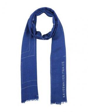 Палантин AKRIS. Цвет: синий