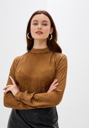 Блуза b.young. Цвет: золотой