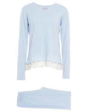 Пижама BLUGIRL BLUMARINE UNDERWEAR. Цвет: небесно-голубой