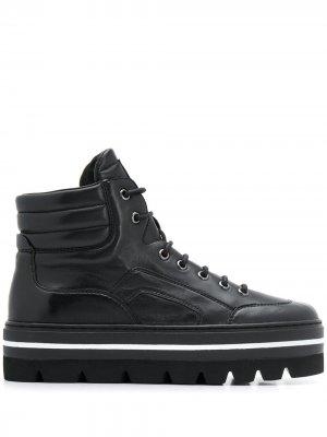 Ботинки на шнуровке Steffen Schraut. Цвет: черный