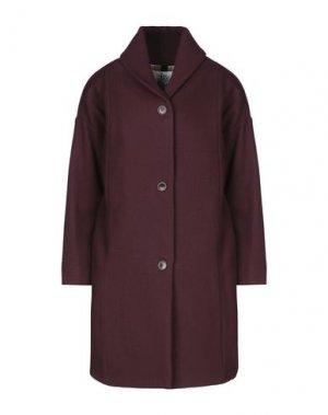 Пальто ATTIC AND BARN. Цвет: баклажанный