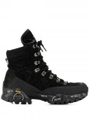 Ботинки Mid Trec Premiata. Цвет: черный