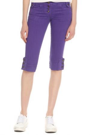 Капри джинсовые Just Cavalli. Цвет: фиолетовый
