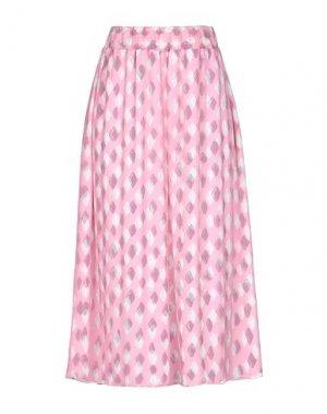 Юбка длиной 3/4 OPENING CEREMONY. Цвет: розовый