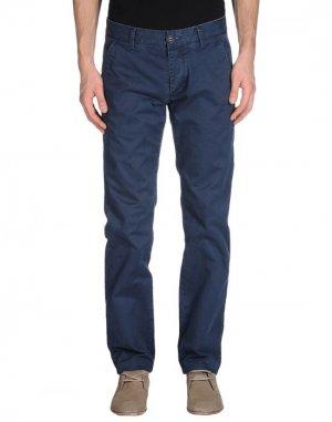 Повседневные брюки CROSS JEANS. Цвет: темно-синий