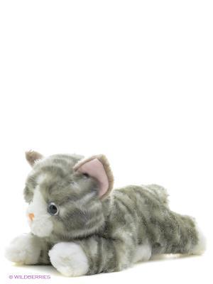 Игрушка мягкая Котенок серый 28 см AURORA. Цвет: серый