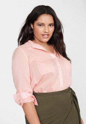 Рубашка Violeta by Mango - PLANA5. Цвет: розовый