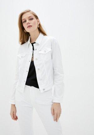 Куртка джинсовая Liu Jo Disney. Цвет: белый