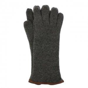 Кашемировые перчатки Svevo. Цвет: серый