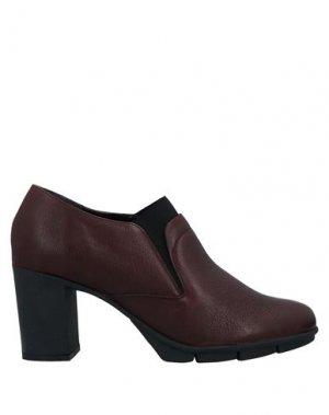 Полусапоги и высокие ботинки THE FLEXX. Цвет: красно-коричневый