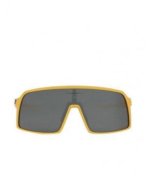 Солнечные очки OAKLEY. Цвет: желтый