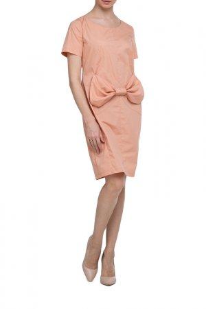 Платье Adzhedo. Цвет: темно-персиковый