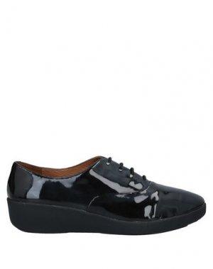 Обувь на шнурках FITFLOP. Цвет: черный