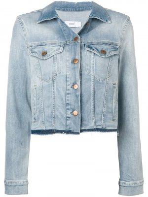 Укороченная джинсовая куртка Closed. Цвет: синий