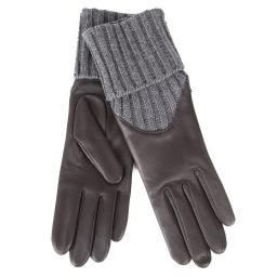 Перчатки 11/237C темно-коричневый AGNELLE