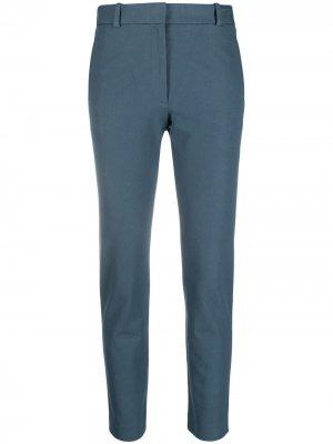 Укороченные брюки строгого кроя Joseph. Цвет: синий