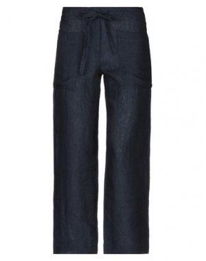 Повседневные брюки BIONEUMA NATURAL FASHION. Цвет: темно-синий