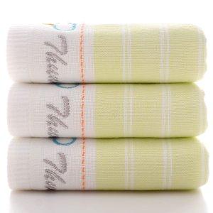 1шт Полотенце вышивкой SHEIN. Цвет: многоцветный