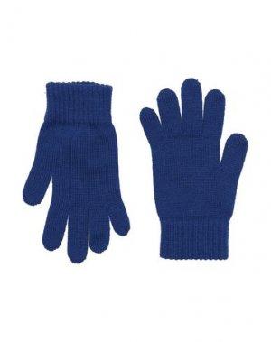Перчатки TRUSSARDI JUNIOR. Цвет: синий