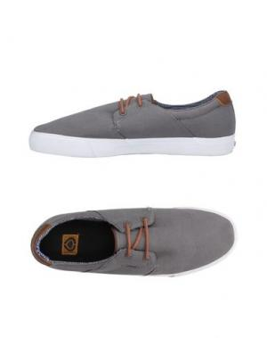 Низкие кеды и кроссовки C1RCA. Цвет: серый