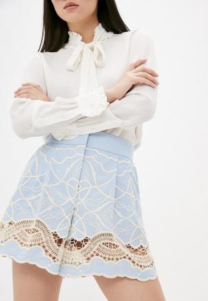 Шорты Alberta Ferretti. Цвет: голубой