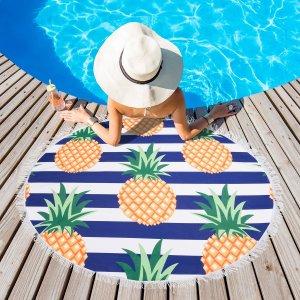 Полотенце пляжное круглое Этель