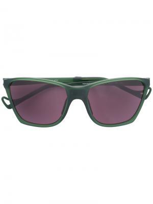 Солнцезащитные очки Keiichi District Sky G15 Vision. Цвет: зеленый