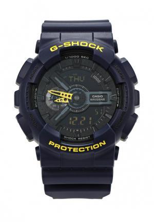 Часы Casio G-SHOCK GA-110LN-2A. Цвет: синий