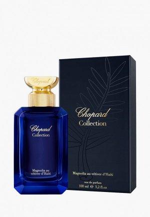Парфюмерная вода Chopard The Gardens Of Paradise, magnolia au vetiver d hati, 100 мл. Цвет: прозрачный