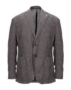 Пиджак BRANDO. Цвет: серый