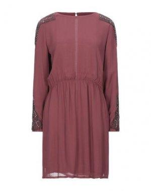 Короткое платье MIGUEL PALACIO for HOSS INTROPIA. Цвет: пастельно-розовый