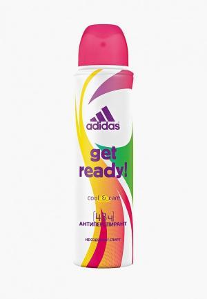 Дезодорант adidas Get Ready, 150 мл. Цвет: прозрачный