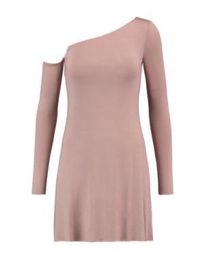 Короткое платье BAILEY 44. Цвет: пастельно-розовый