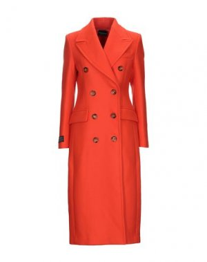 Пальто ATOS LOMBARDINI. Цвет: оранжевый