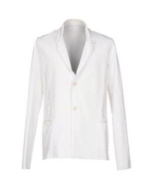 Пиджак PRIMORDIAL IS PRIMITIVE. Цвет: белый