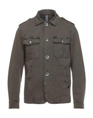 Пиджак DISTRETTO 12. Цвет: зеленый-милитари