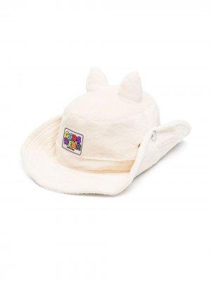 Шляпа с вышивкой Rick & Morty Gcds. Цвет: белый