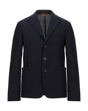 Пиджак BARENA. Цвет: темно-синий
