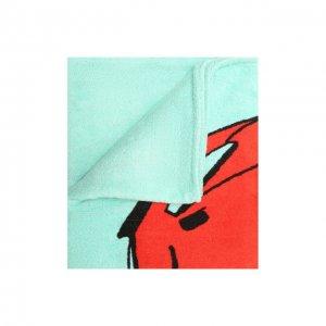 Хлопковое полотенце Bottega Veneta. Цвет: зелёный