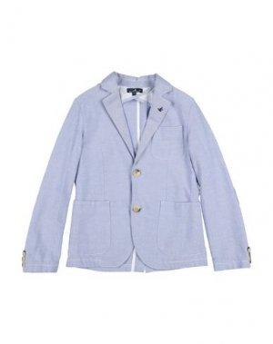 Пиджак BROOKSFIELD. Цвет: лазурный