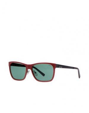 Солнечные очки STING. Цвет: красно-коричневый