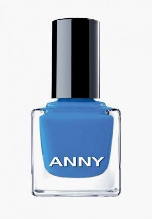 Лак для ногтей Anny тон 397 цвет Санторини. Цвет: голубой