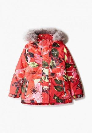 Куртка утепленная Kuoma. Цвет: красный