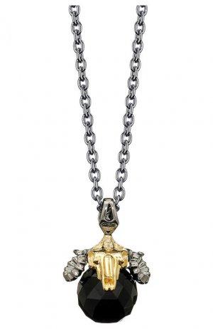 Кулон Stephen Webster. Цвет: чернёное серебро с позолотой