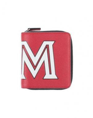 Бумажник MCM. Цвет: красный