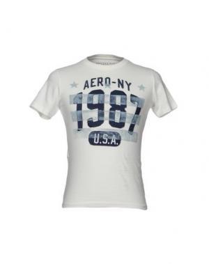 Футболка AÉROPOSTALE. Цвет: белый
